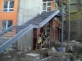 Výroba ocelové zábradlí schodiště zámečnictví Chrudim Pardubice