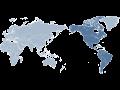 Globale Logistik - ein dichtes Netz von Vertretungen in der ganzen Welt