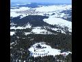 Město Abertamy, skiareál Plešivec, lyžařské stopy