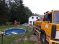 Dovoz vody do bazénů v obcích se zákazem jejich plnění z vodovodního řadu - Střední Čechy