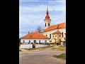 Město Hrušovany nad Jevišovkou, kostel sv. Štěpána, sousoší Nejsvětější Trojice