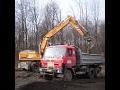 Přeprava stavebních a zemních strojů, sypkých hmot, těžká stavební doprava