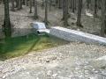 Stavby opěrných zdí, lesotechnických a vodohospodářských staveb.