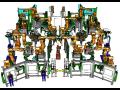 Off-line simulace robotických pracovišť pro automobilový průmysl