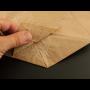 Podlepení dna papírového pytle pro jeho větší výdrž