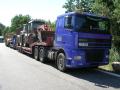 Přeprava strojů a nadrozměrných nákladů