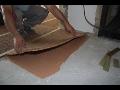 Výroba antivibrační korkové desky