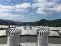 Odvětrávání panelových a bytových domů, montáž ventilačních turbín, Praha