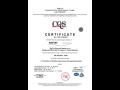 Certifikát kvality EN