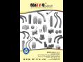 Ztracené bednění kotvící lišty nivelace kovové distanční podložky
