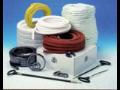 Výroba průmyslová těsnění bezazbestové teflonové gumové Hradec