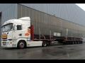Speciální technika pro nadrozměrnou, těžkotonážní přepravu
