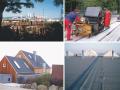 Asfaltové hydroizolace střešních systémů, tepelná izolace střech.