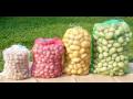 Odolné rašlové (síťované) pytle na uskladnění brambor a zeleniny - prodej