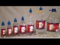 Acetanhydrid-Lampový olej-Podpalovače