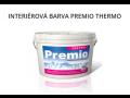 Interiérová malířská barva Premio Thermo - bílá, otěruvzdorná