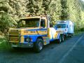 Odtahová služba z Plzně, vyprošťování kamionů, osobních a užitkových aut při havárii