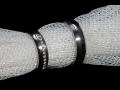 Kvalitní zlaté, stříbrné a ocelové snubní prsteny