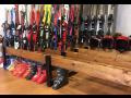 Dětské, sjezdové lyže - půjčovna, servis lyží