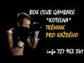 Box club Gambare - kondiční box, lekce s osobním trenérem nebo v tréninkových skupinách