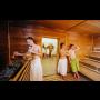 Suchá finská sauna s kapacitou 30 míst pro lepší obranyschopnost vašeho ...