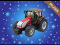 Hračky pro malé farmáře - traktory, kombajny, návěsy a další hračky s motivem farmy