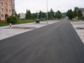 Dopravní stavby, výstavba místních komunikací, silnic, parkovišť a chodníků v Plzni
