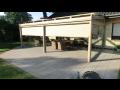 Letní zahrada s prosklenou střechou
