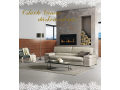 Moderní kožená pohovka Praha - speciální vánoční nabídka s doručením do Vánoc