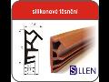 Silikónové tesnenie pre výrobcov Euro okien, renováciu plastových okien, dverí
