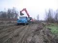 Pískovna Petrovice - Vladislava Durczoka, těžba štěrku a písku, přeprava na stavbu