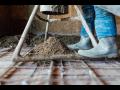 Betonové potěrové podlahy pro haly, sklady, garáže, moderní technologické postupy