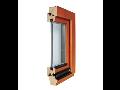 Eurookna, dřevěná okna, dveře pro pasivní domy, dřevostavby - výroba