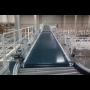 Ploché pásové dopravníky pro dopravu kusového materiálu