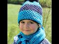 Dětské pletené čepice a teplé zimní doplňky oblečení