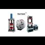 Hydraulické zkušební stroje Ibertest pro zkoušení betonů a stavebních materiálů v tahu a tlaku