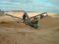 Těžba písku a hutnitelného materiálů