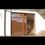 Dřevěné posuvné dveře, HS portály - elegantní a bezpečný vstup na ...