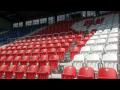 Teleskopické tribuny pro sportovní haly, posluchárny, sedadla do divadla, kina - výroba, montáž