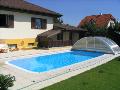 Plastové bazény, rodinné bazény, zastřešení, PATRIA Kobylí,a.s.