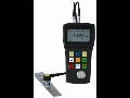 Digitální měření polohy, ultrazvukový tloušťkoměr přes barvu