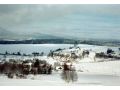 Obec Zbytiny v prachatické kotlině, turistická oblast s cyklostezkami a lyžařským vlekem
