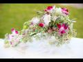 Kompletní svatební květinový servis - květinová výzdoba, květiny na svatbu, dekorace na stůl