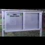 Výroba informačních, plakátovacích ploch a vitrín pro obce i města