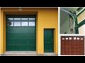 Sekční, křídlová garážová vrata Konice, Prostějov, Olomouc