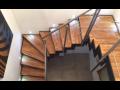 Stavební zámečnictví - výroba nerezového zábradlí, samonosných schodišť