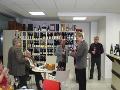 Klimatizovaná skříň na víno, vinotéka, degustace vína