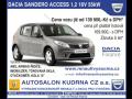 Akce Dacia Sandero