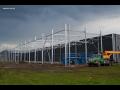 Stavba ocelových hal - výroba, montáž ocelové konstrukce, opláštění haly