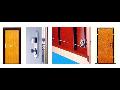 Bezpečnostní protipožární dveře a bezpečnostní závory do bytů, domů i firem